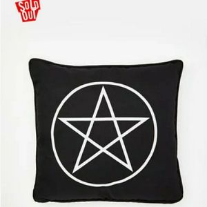DollsKill Pentagram Throw Pillow/Cushion